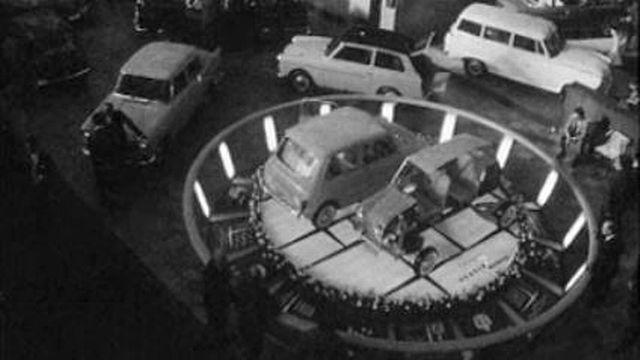 Un salon de l'auto au coeur de la ville de Genève.