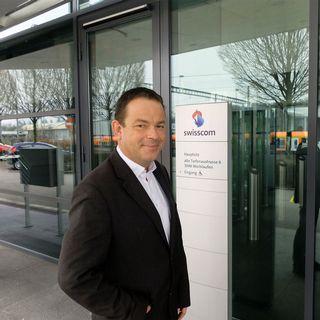 Christian Neuhaus, porte-parole de Swisscom: il comprend l'énervement des clients et promet de tout faire pour améliorer les choses. [Alain Arnaud - RTS]
