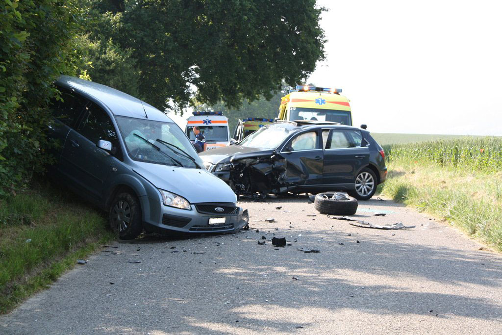 Accident de la route.