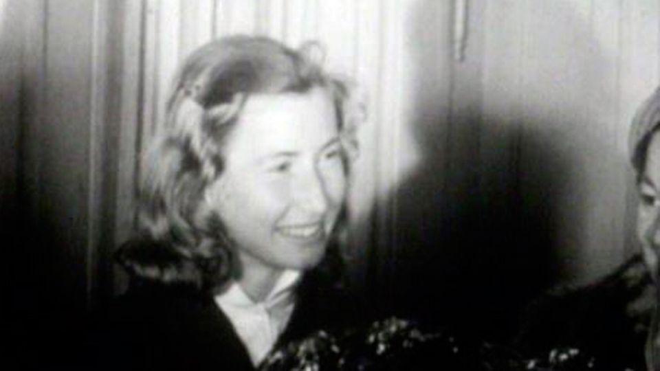 Renée Colliard en 1968. [RTS]
