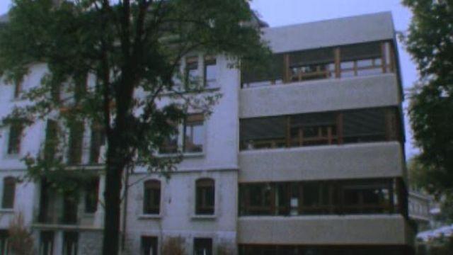 Hôpital de l'enfance de Montétan à Lausanne en 1979 [RTS]