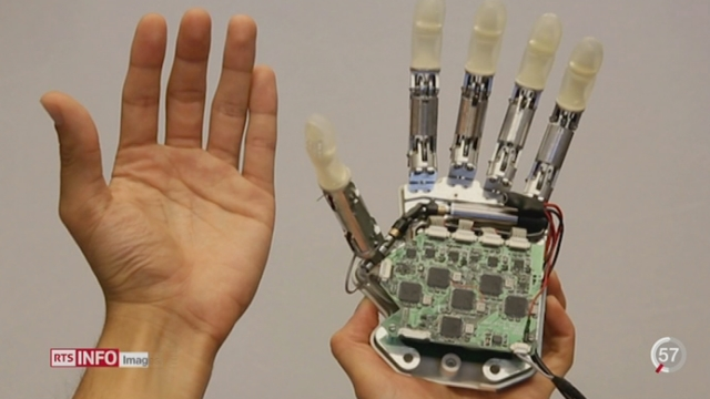 L'EPFL développe une main bionique qui permet de retrouver le sens du toucher [RTS]