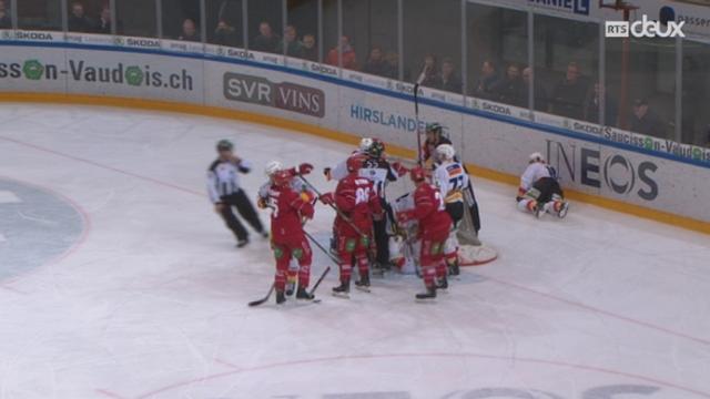 Hockey - Tour de relégation (3ème j.): Lausanne - Bienne (2 - 0) [RTS]