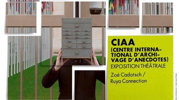 Zoé Cadotsch - Centre international d'archivage d'anecdotes