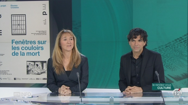 Les invités culturels: Patrick Chappatte et Anne-Frédérique Widmann s'intéressent à la peine de mort [RTS]