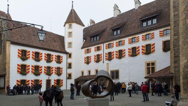 Le château de Neuchâtel, siège des autorités cantonales. [Sandro Campardo - Keystone]