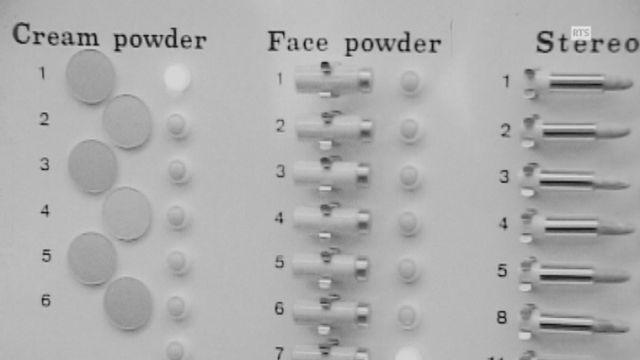 L'ordinateur Beauty computer pour éviter les fautes de goût en matière de maquillage. [RTS]