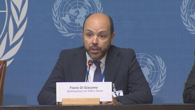 Flavio di Giacomo, porte-parole du Bureau de coordination pour la Méditerranée de l'OIM. [UNifeed]