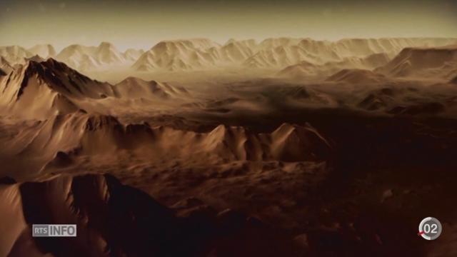 La mission russo-européenne ExoMars part pour la planète rouge [RTS]