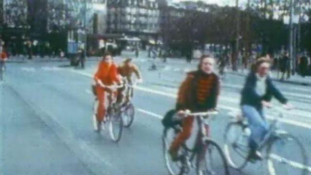 Dimanche sans voitures des années 70 [RTS]