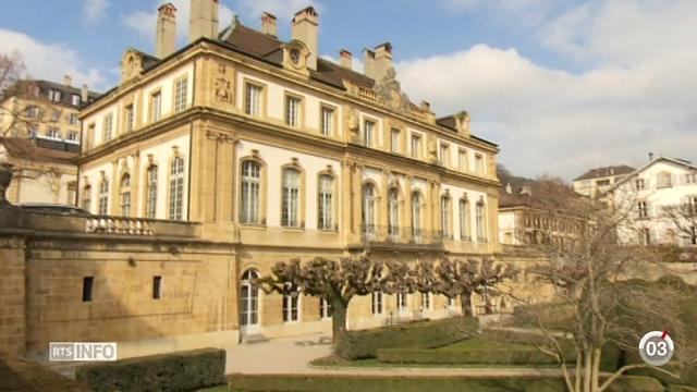 Minimag - NE: l'Hôtel DuPeyrou a longtemps été la propriété de riches notables [RTS]