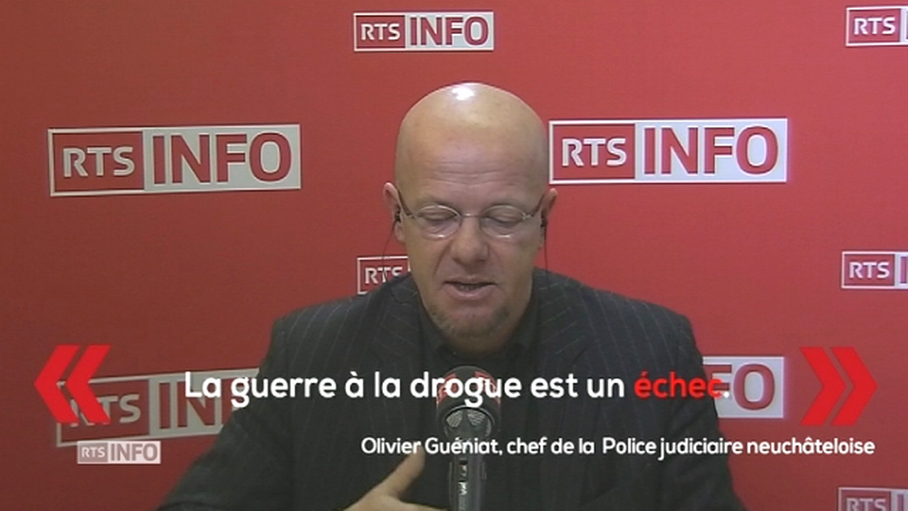 """La guerre à la drogue est un échec"" [RTS]"