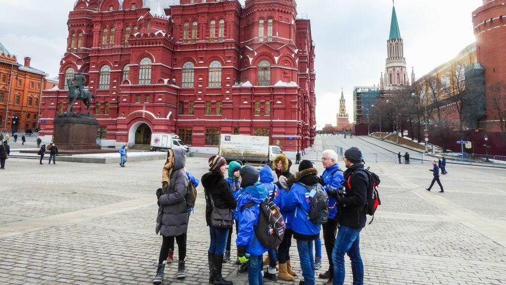 A Moscou.