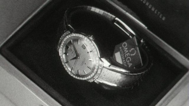Une montre Omega en 1961. [RTS]