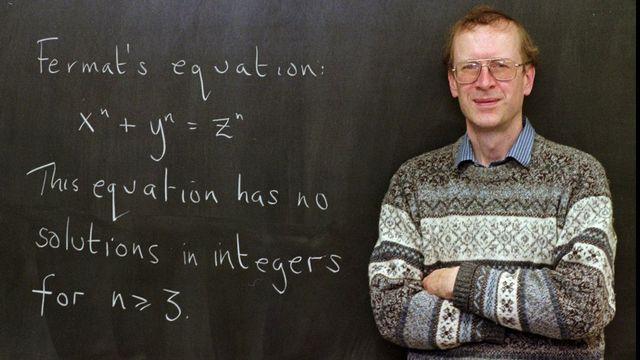Le professeur Andrew Wiles en 1998. [AP Photo/Charles Rex Arbogast - Keystone]