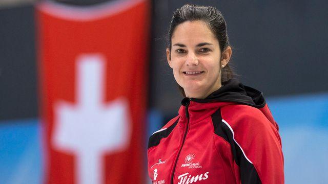 Binia Feltscher sera la leader de cette équipe de Suisse. [Anthony Anex - Keystone]