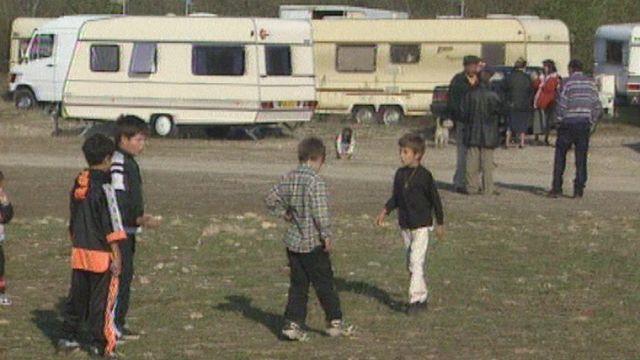 Les Yéniches en 1998. [RTS]