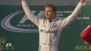 Course: Nico Rosberg (GER) remporte le premier Grand Prix de la saison 2016! [RTS]