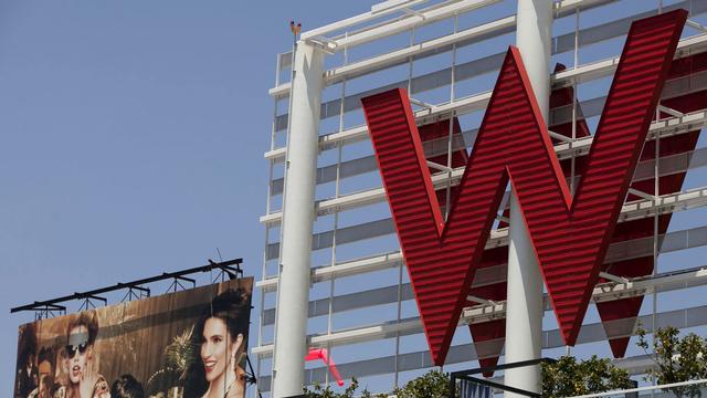 La chaîne hôtelière américaine Starwood est convoitée par l'assureur chinois Anbang Insurance Group. [Damian Dovarganes - AP/Keystone]