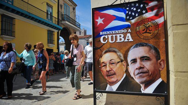 Raul Castro reçoit lundi son homologue américain Barack Obama. [Yamil Lage - AFP]