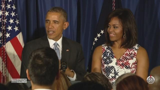 Le président américain Barack Obama est en visite à Cuba [RTS]