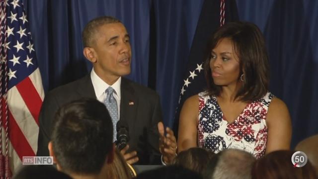 Barack Obama est le premier dirigeant américain à venir à Cuba depuis 1959 [RTS]
