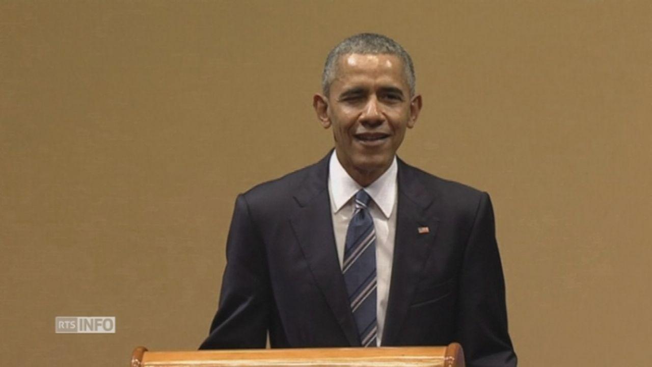 Le clin d'oeil d'Obama à Cuba [RTS]