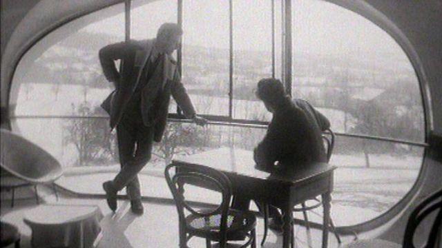 Maison futuriste en 1965. [RTS]