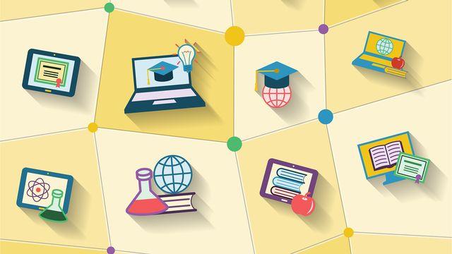 Les MOOCs [© macrovector  - Fotolia]