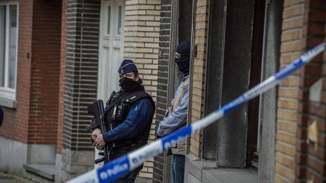 Plusieurs perquisitions ont eu lieu à Bruxelles au lendemain des attentats. [Christophe Petit Tesson - EPA/Keystone]