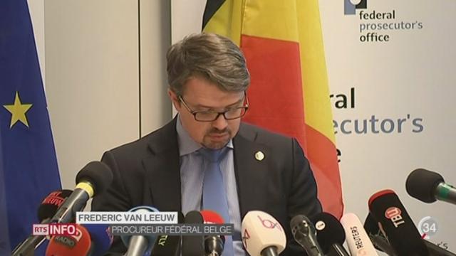 Attentats de Bruxelles: deux kamikazes ont été identifiés et un troisième est activement recherché [RTS]
