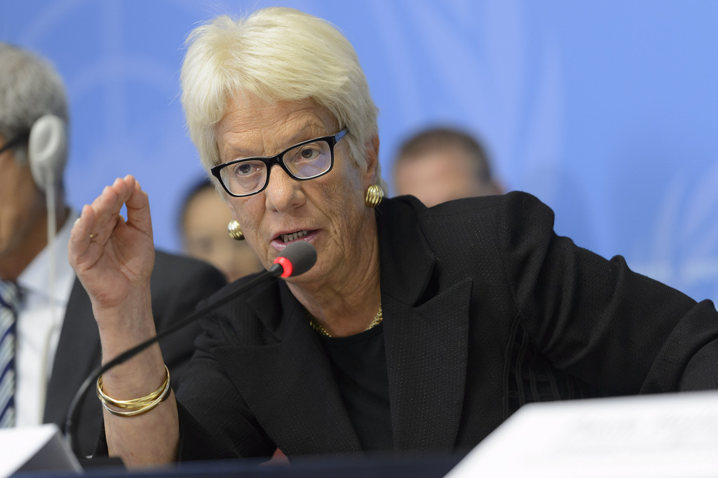 Del Ponte démissionne de la commission sur la Syrie