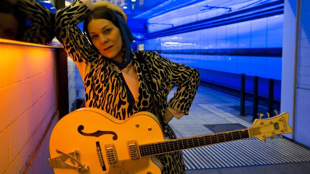 La chanteuse Nadja Zela. [niklaus_spoer]