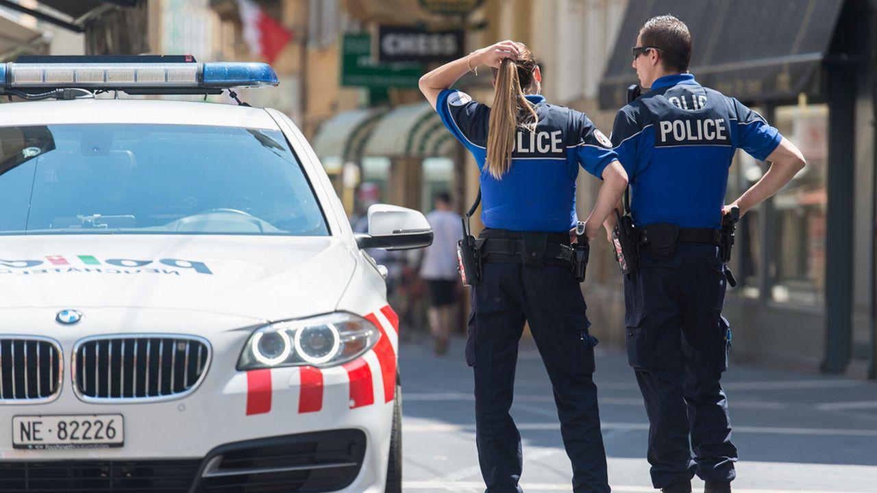 """Neuchâtel serait l'une des """"victimes"""" de la Statistique policière de la criminalité (SPC). [Sandro Campardo - Keystone]"""