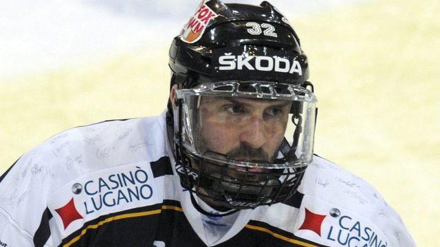 Le joueur du HC Lugano Sébastien Reuille. [Karl Mathis - Keystone]