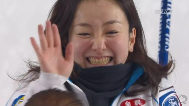 finale dames, Suisse - Japon (5-6): les Nippones marquent à leur tour trois points et reviennent dans le match [RTS]