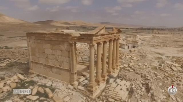 Syrie: les dommages sur la cité de Palmyre seraient moins importants que prévu [RTS]