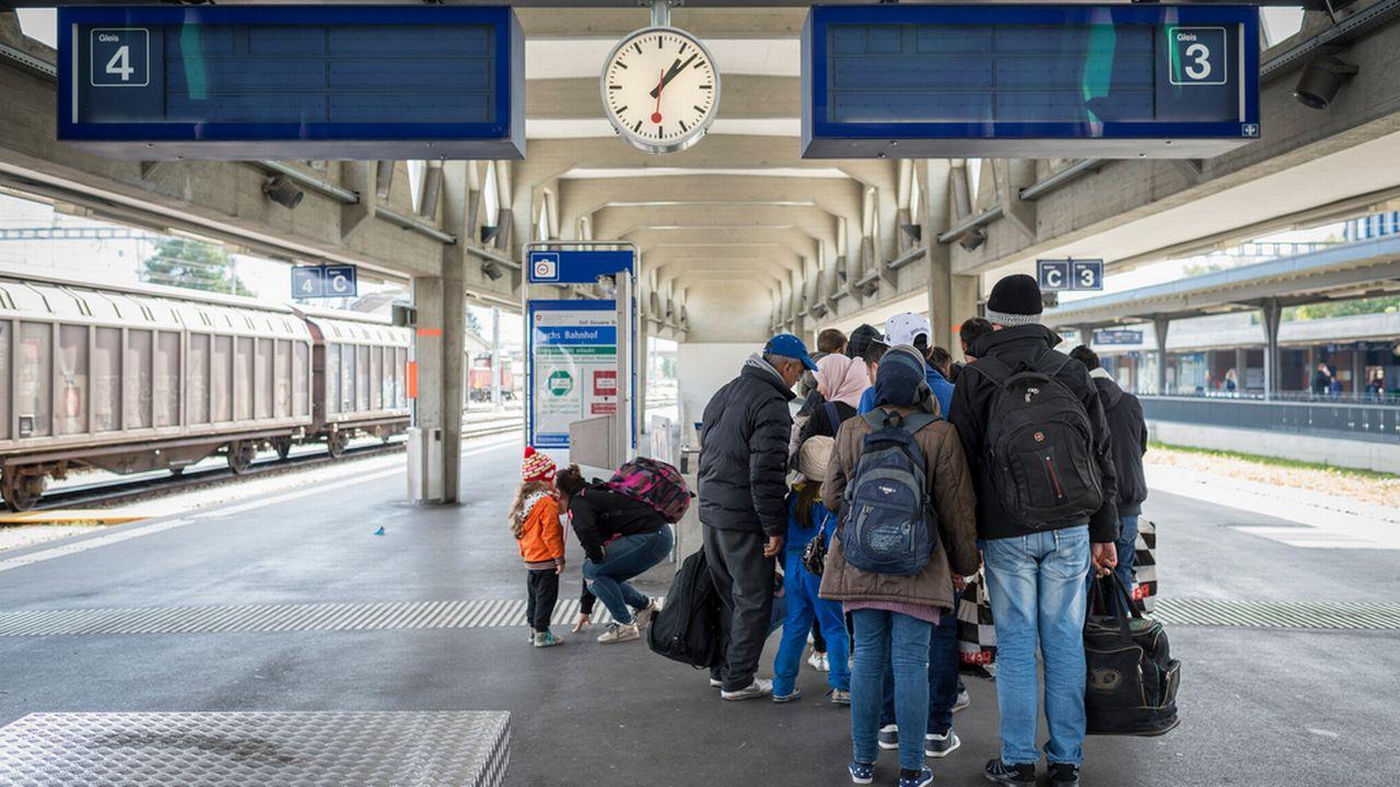 Les demandes d'asile en Suisse ont bondi en septembre par rapport aux mois précédents. [Gian Ehrenzeller - Keystone]