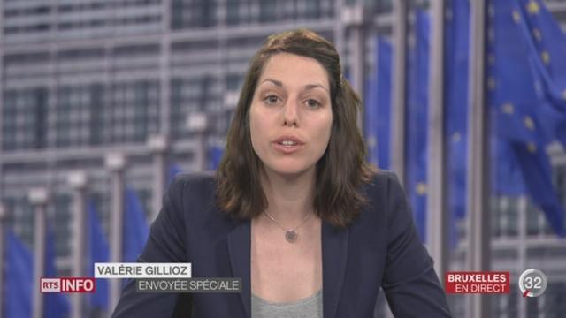Attentats de Bruxelles - Fayçal C. libéré: les précisions de Valérie Gillioz à Bruxelles [RTS]