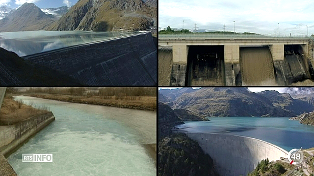 L'énergie hydraulique est en crise, c'est une des raisons pour laquelle le géant Alpiq va mal [RTS]