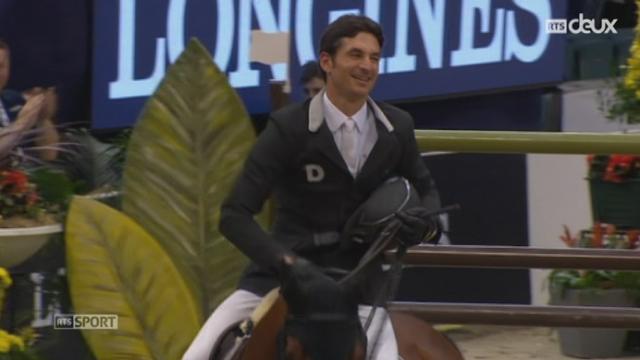Hippisme: Steve Guerdat remporte la finale de la Coupe du monde de saut [RTS]