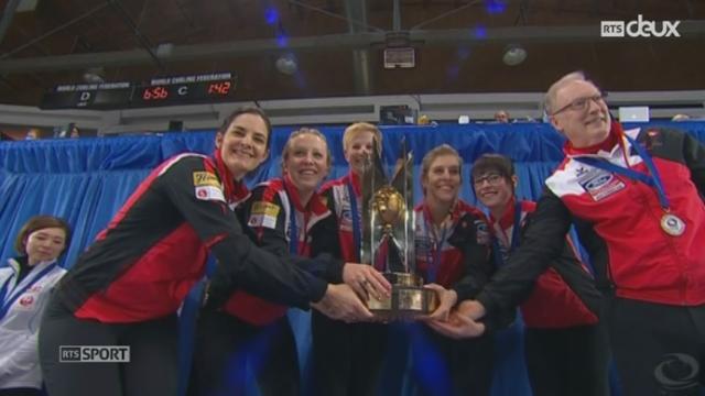 Curling: les Suissesses sont championnes du monde [RTS]