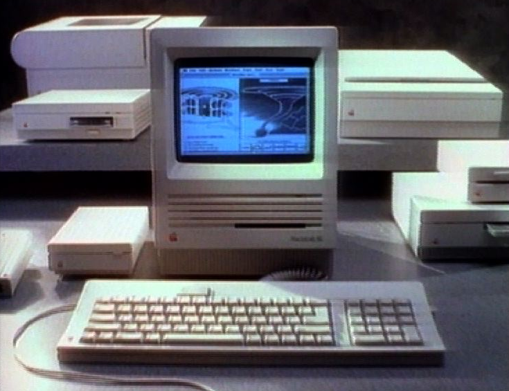 Ordinateur Macintosh PowerPC.
