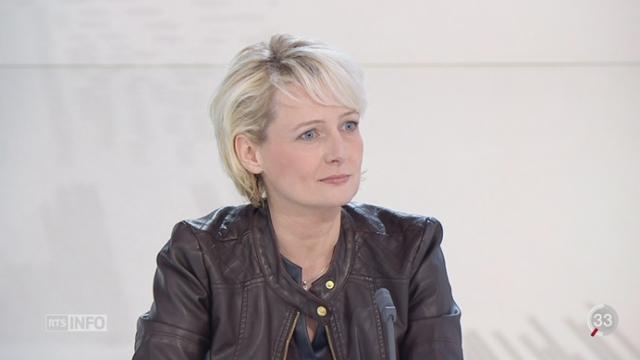 Déficit de l'AVS: entretien avec Isabelle Moret, conseillère nationale (PLR-VD) [RTS]