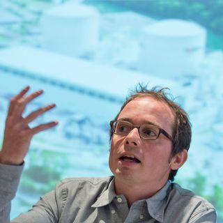 Florian Kasser, responsable du dossier nucléaire pour Greenpeace Suisse. [Lukas Lehmann - Keystone]