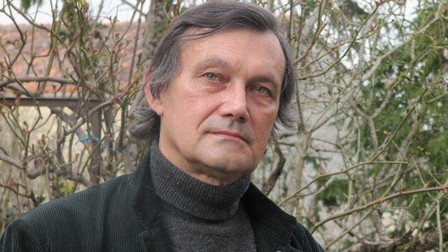 """Francois-Bernard Huyghe, chercheur en science politique et auteur de """"La désinformation"""". [Editions Armand Colin]"""