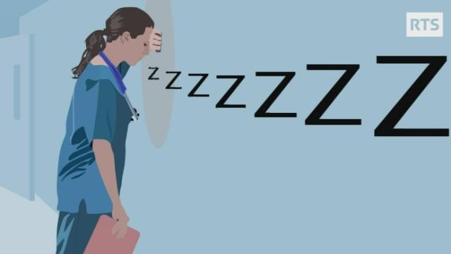 Le sommeil a-t-il une influence sur le poids? (13) [RTS]