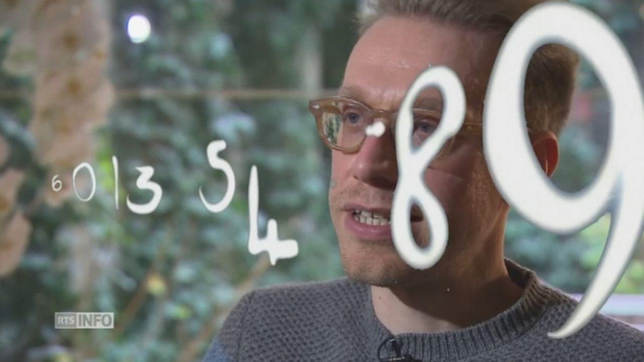Autiste, il voit les chiffres et les lettres en couleurs [RTS]