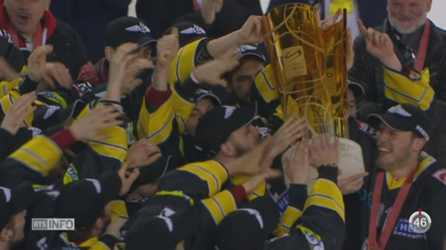JU: la victoire du HC Ajoie a suscité un engouement dans tout le canton [RTS]