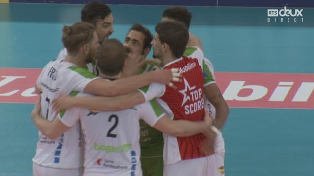 Finale messieurs, Volley Näfels – Lausanne UC (18-25-25-23): Näfels égalise à une manche partout [RTS]